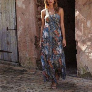 Anthropologie Weston Wear Solene Maxi Dress Small